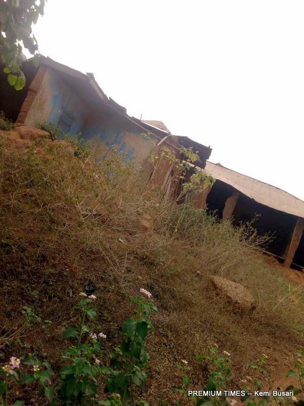 The Dilapidated Oluokun family house